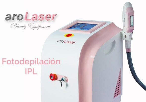 Equipo de Fotodepilacion IPL YS-H07 Arolaser