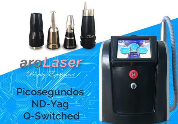 Equipo eliminacion tatuajes Picosegundos Picoportable - Arolaser- YS L75