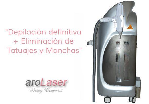 Multifuncion Laser-Diodo 808nm - y - NDyag-en-una-sola-maquina.-Arolaser